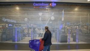 Staking bij hypermarkten Carrefour gaat door