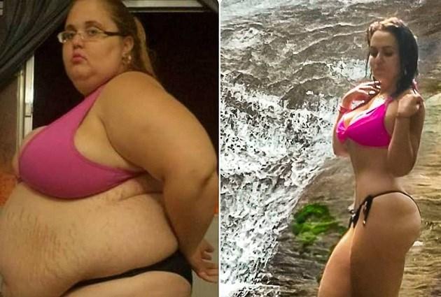Populaire Instagramster viel 88 kilo af en deelt met haar volgers hoe ze dat deed