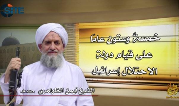 Al-Qaida-leider roept op tot jihad tegen verhuis van VS-ambassade naar Jeruzalem