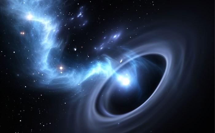 Snelst aangroeiende zwarte gat ooit ontdekt
