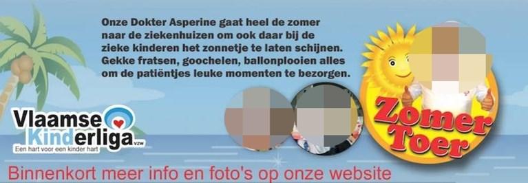 Vlaamse kinderliga breekt met cliniclown 'Dokter Asperine' na gruwelijk gezinsdrama