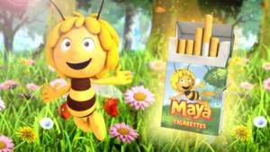Studio 100 laat filmpje van Greenpeace met rokende Maya de Bij offline halen