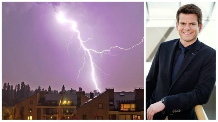 """""""Grote kans op bliksem, zware buien en hagel in hele provincie Antwerpen"""""""