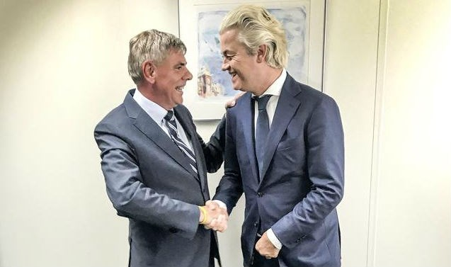 """Filip Dewinter ontmoet Geert Wilders: """"We mogen niet heel de wereld een Sint-Jansplein laten worden"""""""