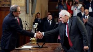 Nieuwe Catalaanse regering legt eed af