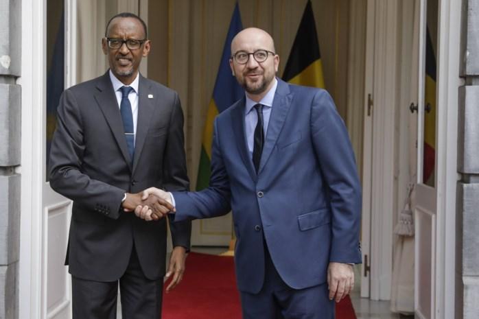 Michel bespreekt nieuw akkoord voor samenwerking met Rwanda
