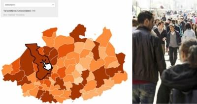 Antwerpen telt meeste nationaliteiten, maar uit hoeveel verschillende landen komen de mensen uit uw gemeente?