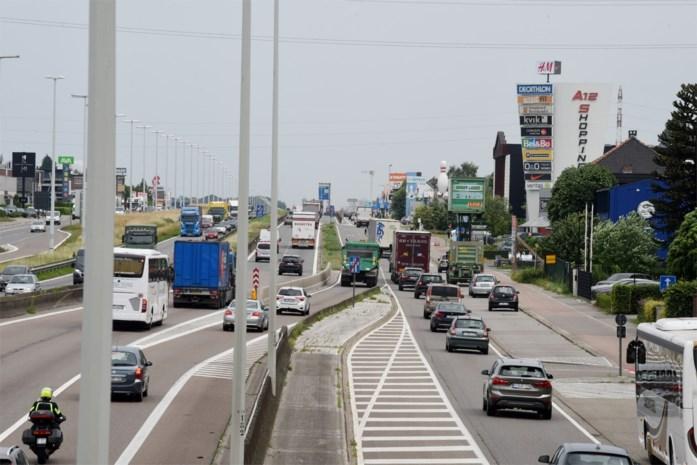 A12 vrijdagnacht afgesloten richting Brussel