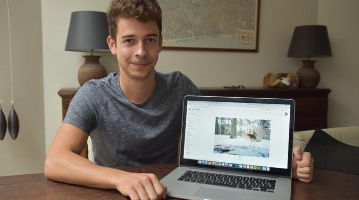 Maxim (23) lanceert onlineplatform waarop foto's objectief worden beoordeeld