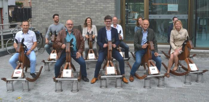 Schommelpaardjes stelen de show in centrum van Mechelen