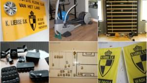Inboedel trainingscentrum Lierse brengt 25.000 euro op: hoge bedragen voor fitness-apparatuur