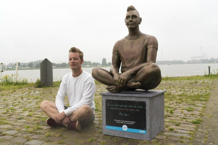 Waarom Flor uit Borgerhout zijn eigen standbeeld heeft aan de Scheldekaaien