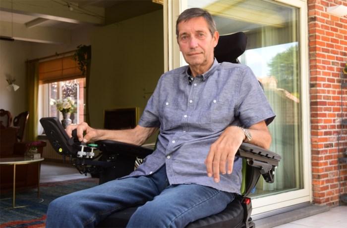 """ALS-patiënt uit Vosselaar te zien in opvallend filmpje: """"Ik droom soms dat iemand me geneest, je weet maar nooit"""""""