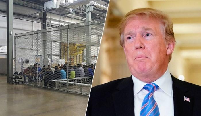 Trump overweegt om migrantenkinderen en hun ouders niet langer te scheiden