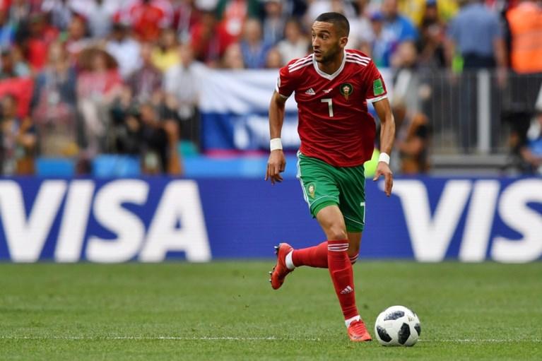 Recordgoal van Ronaldo leidt Portugal langs Marokko