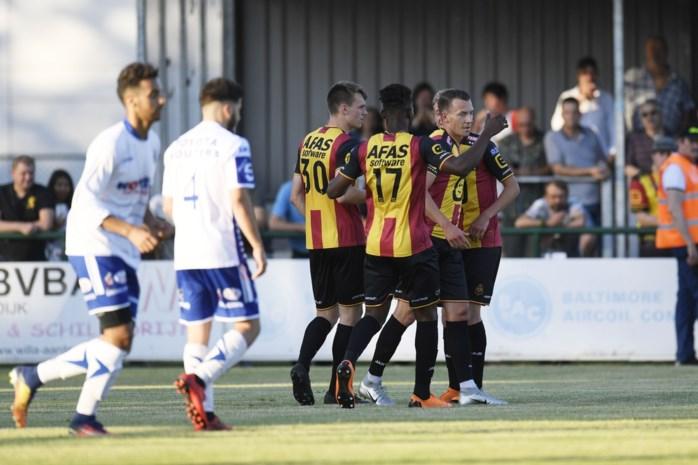 KV Mechelen klopt Heist in oefenpot na late winnende treffer