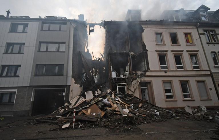 Appartementsgebouw verwoest door ontploffing: minstens 5 gewonden
