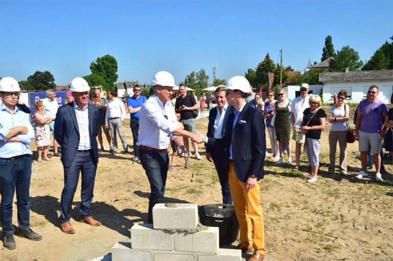 Eerste steen gelegd van woonproject Waterberg in Hombeek