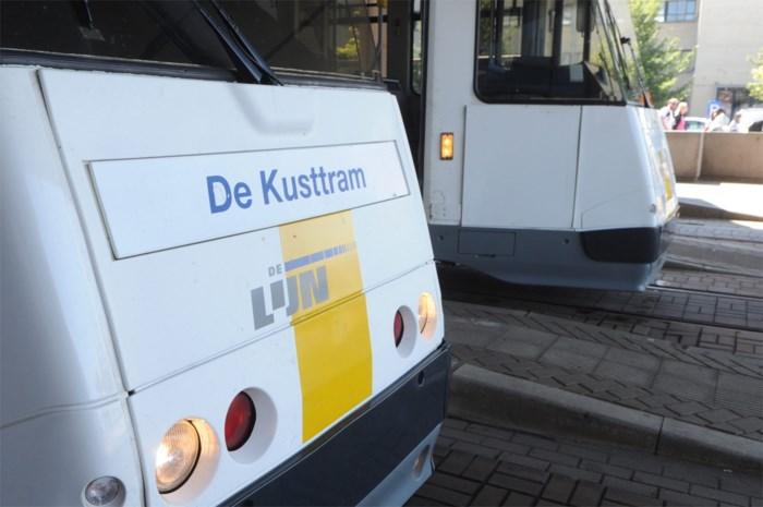 Kusttramverkeer zwaar verstoord na ontsporing tram in Oostende