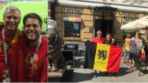 """Vader en Antwerpse zoon al drie weken in het zog van de Rode Duivels: """"We brengen die beker naar huis!"""""""