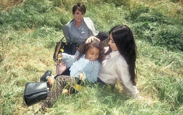 Dochter van Kim Kardashian (5) poseert voor grote modecampagne