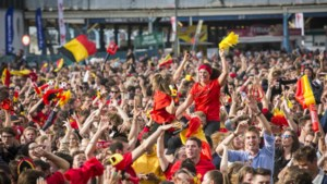 """Ook laatste Rode Duivels-match op groot scherm op Kaaien: """"20.000 liter bier tijdens kwartfinale"""""""