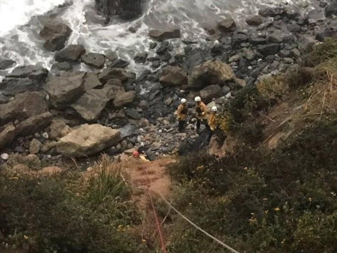 Vrouw in gecrashte auto overleeft zeven dagen aan de voet van klif