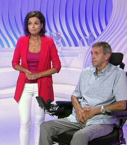 Kempense ALS-patiënt presenteert Lotto-trekking