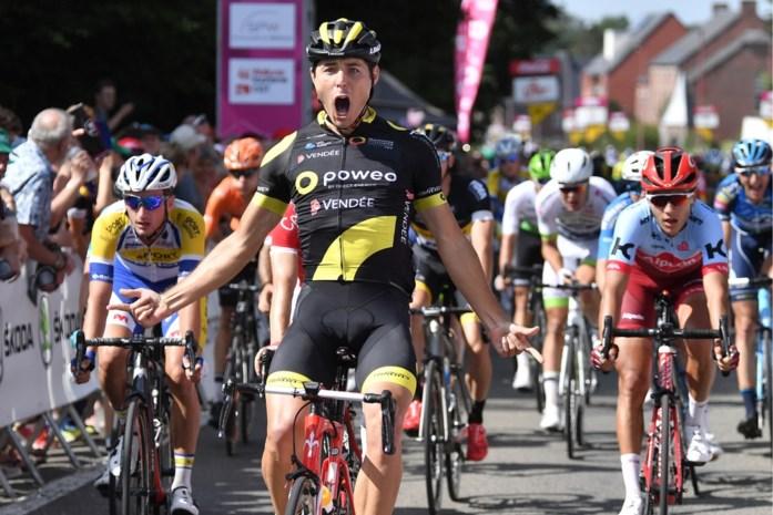 Fransman Romain Cardis (Direct Energie) wint eerste etappe in Ronde van Wallonië