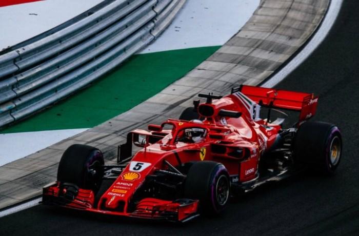 Sebastian Vettel blijft de snelste in Hongarije, Stoffel Vandoorne zeventiende