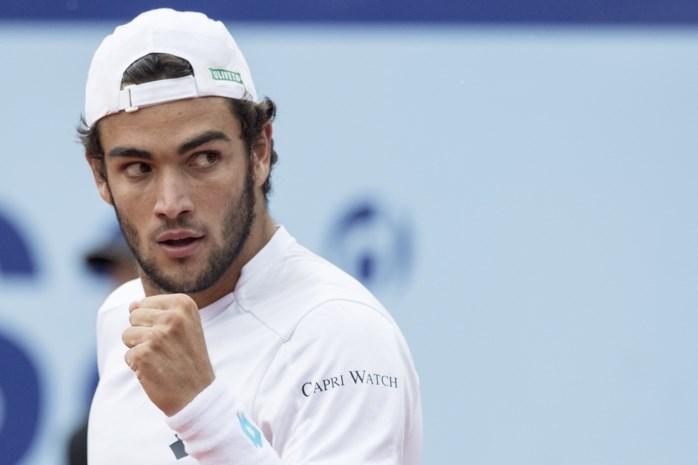 ATP Gstaad krijt finale tussen Italiaan Berrettini en Spanjaard Bautista Agut