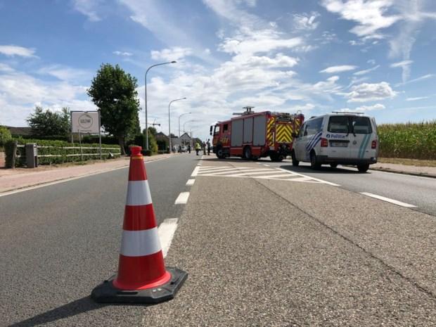 Vrachtwagens botsen op elkaar aan dancing Copacabana: één zwaargewonde