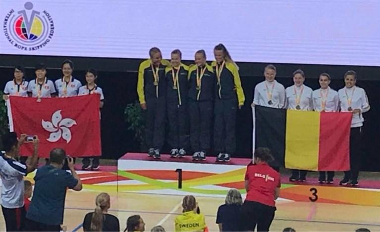 Mechelse club pakt medailles en bevestigt status als wereldtop op WK Ropeskipping