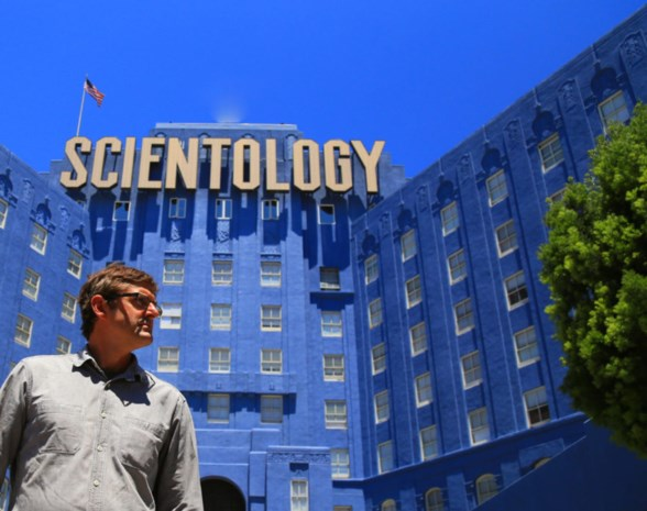 Documentairemaker Louis Theroux duikt op Canvas in de wereld van Scientology