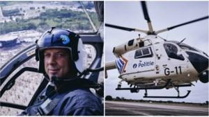 """Helikopterpiloot Dirk: """"In de lucht voel ik me altijd veilig,zelfs als ik beschoten word"""""""