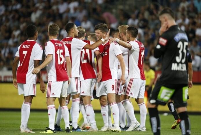 Standard mag zijn tenen uitkuisen: Ajax stoomt door naar derde voorronde Champions League (ondanks flater)
