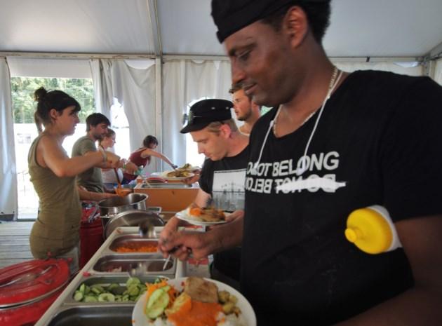 Leger vrijwilligers bouwt festival in drie weken op