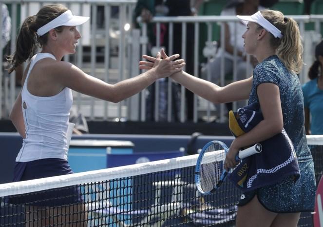 WTA San Jose - Mertens stoot door naar de halve finales
