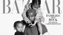 Sterren tonen hun kinderen in modeblad Harper's Bazaar