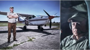 """Karel (76) vloog jarenlang bij de luchtmacht en is nu piloot voor Antwerpse skydivers: """"Vliegen blijft spannend"""""""