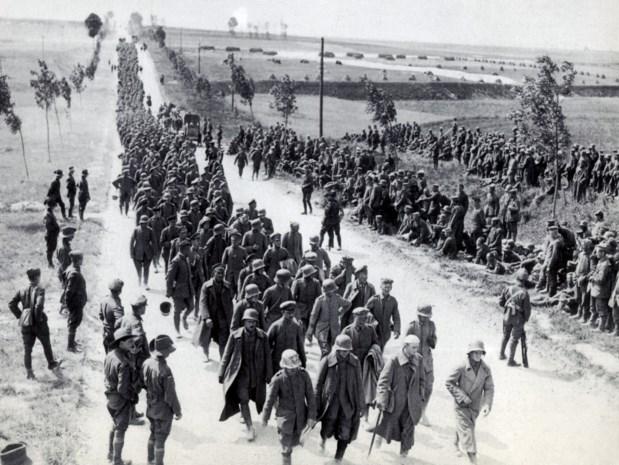 100 jaar geleden beleefden de Duitsers hun donkerste dag en kantelde de Grote Oorlog