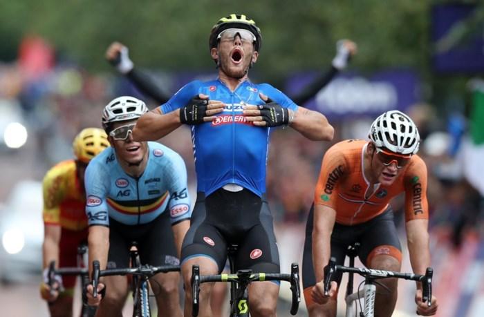 Veldrijders maken indruk op EK Wielrennen: brons voor Wout van Aert