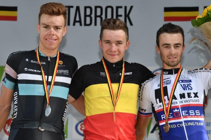 Gerben Thijssen is Belgisch kampioen op de weg bij de beloften
