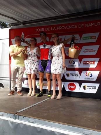 Stijn Siemons (20) pakt rode trui in Ronde van Namen