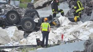 Mogelijk nog 20 slachtoffers onder puin van ingestorte brug in Genua