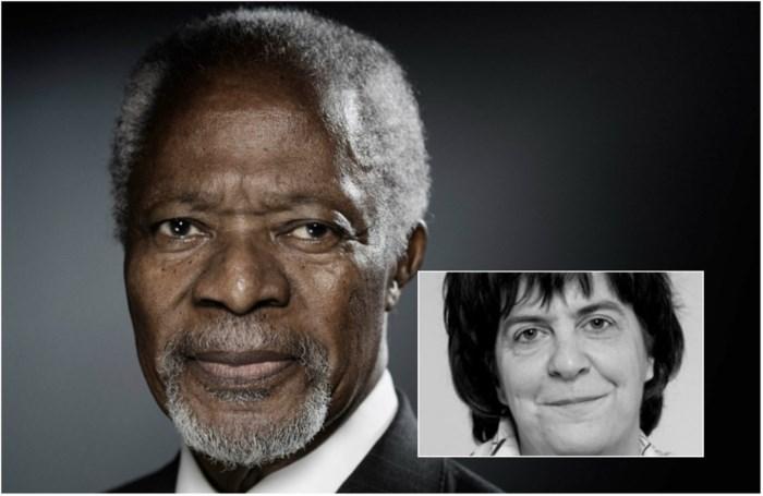 """Onze hoofdredacteur herdenkt Kofi Annan (1938-2018): """"Kijkend en luisterend naar hem, voel je hoe erg we mensen missen die willen verenigen"""""""
