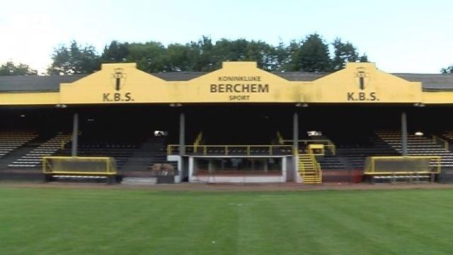 Plannen voor hoofdtribune Berchem Sport bekend in mei
