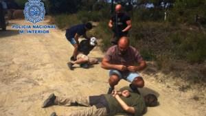 Spaanse politie verspreidt beelden van arrestatie moordverdachte Jos Brech