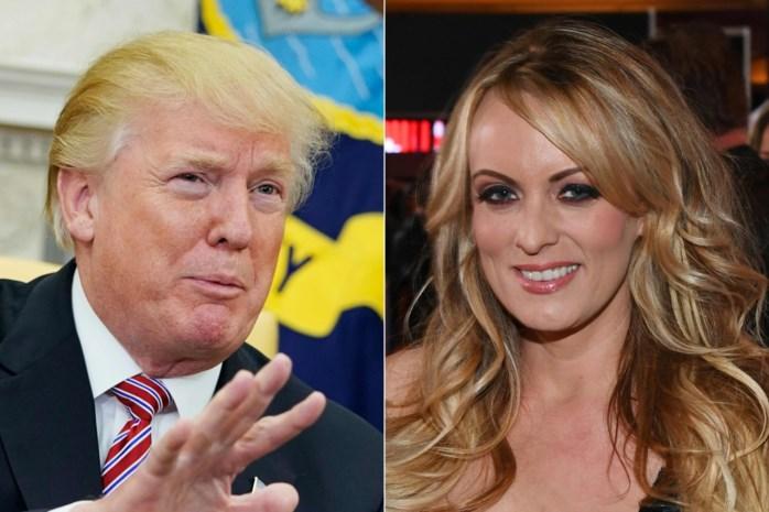 """Pornoactrice Stormy Daniels geeft interview over affaire met Trump: """"De seks duurde twee minuten, als ik genereus ben"""""""