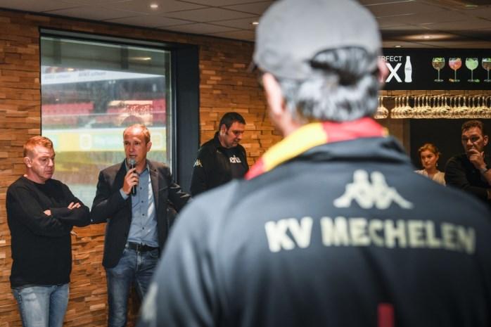 Meerderheidsaandeelhouders KV Mechelen leggen hun plannen uit aan supporters